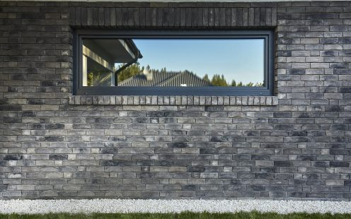 Single family house in Charzykowy Poland made with Frontera Terca brick